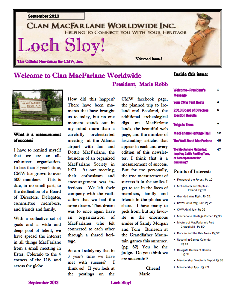 Sept 2013 Front Page
