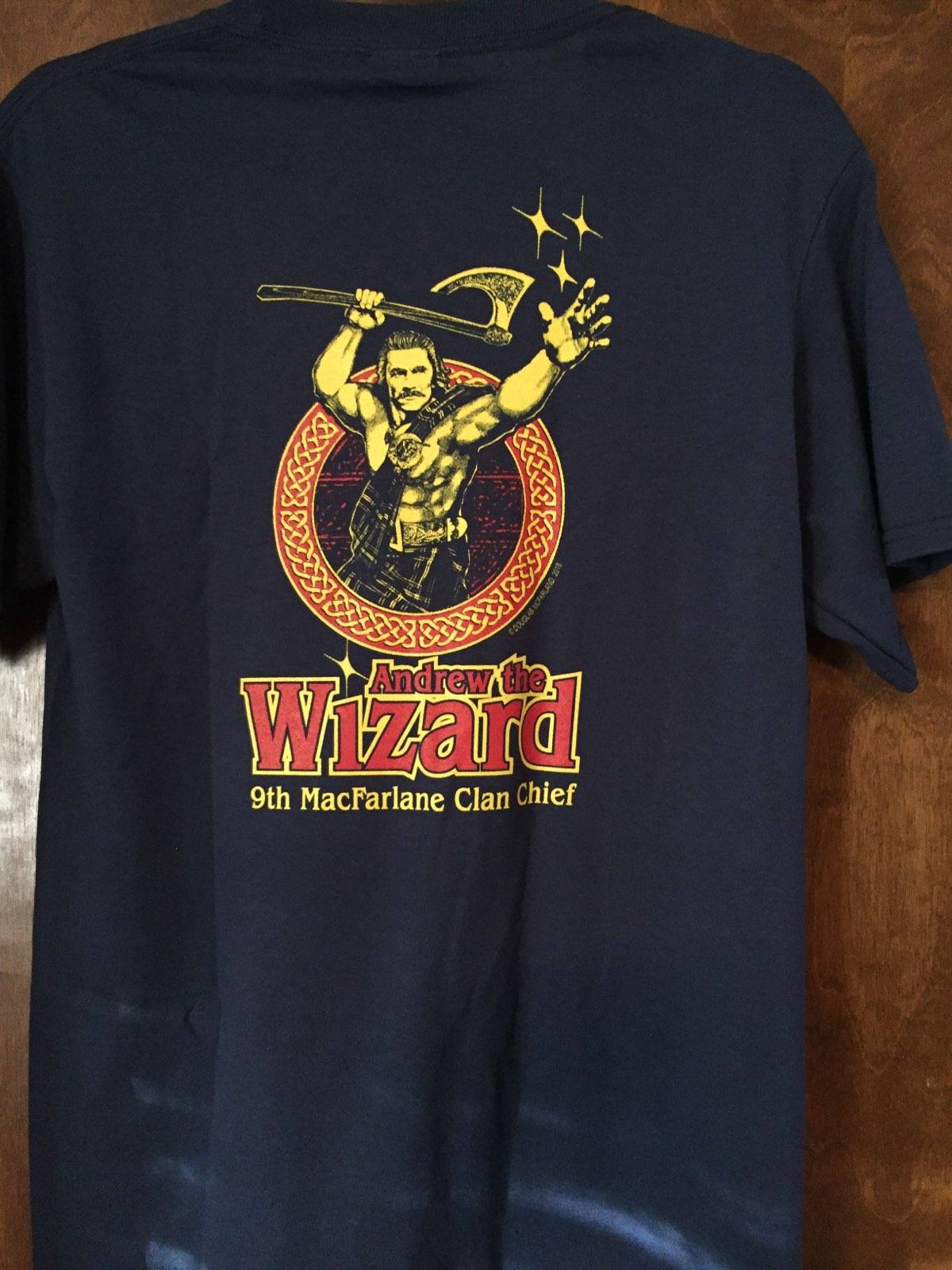 wizard shirt back